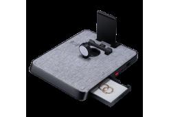 Беспроводное зарядное Pitaka Air Omni Lite Grey Weave