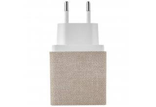 Stream 2 in 1 wireless charger, БЗУ стандарта Qi, мощность 10W, цвет: серебристый