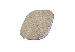 WL02GD10-AD Stream wireless charger, БЗУ стандарта Qi, мощность 10W, цвет: бежевый