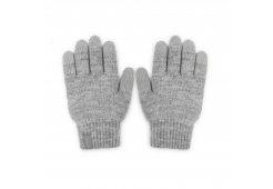 Перчатки Moshi Digits для сенсорных дисплеев. Размер M. Цвет: светло-серый.