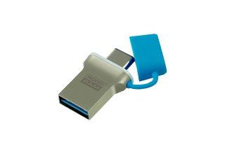 USB-накопитель GOODRAM TYPE-C, USB3.0, 64 ГБ, голубой