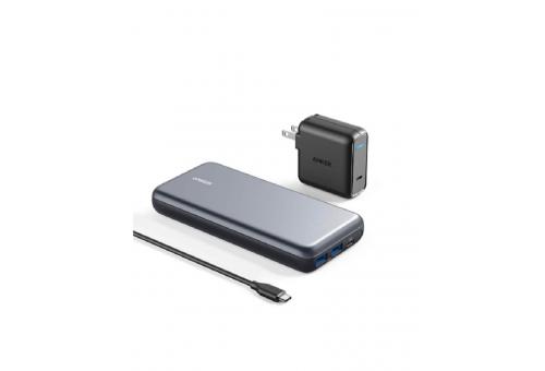 Внешний аккумулятор Anker PowerCore+ 19000 PD Hybrid USB-C