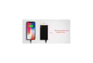 PB08BL10000-PD Core Power bank 10000  Аккумуляторная батарея  10000mAh, цвет: черный