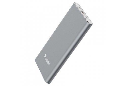 Внешний аккумулятор Yoobao Power Bank A1, 10000 мАч, серый