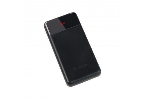 Внешний аккумулятор YOOBAO Power Bank PD 30W, 30000 мАч, черный
