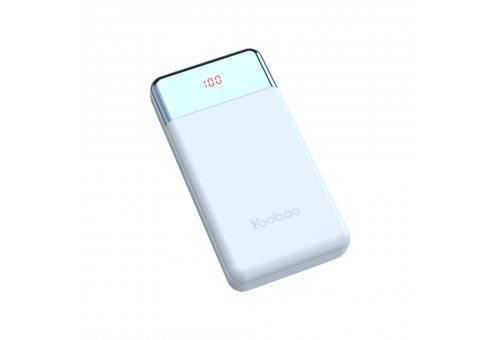 Внешний аккумулятор YOOBAO Power Bank PD 30W, 30000 мАч, синий