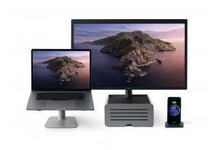 Подставка Twelve South HiRise под MacBook, серебристый