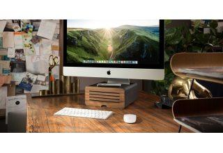 Подставка Twelve South HiRise Pro для iMac, цвет черный/серебристый