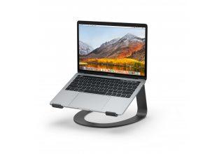 Подставка Twelve South Curve для MacBook, сталь, черный