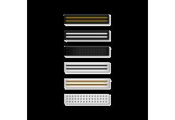 Набор петелек Bling My Thing Allure Loops Sport для Apple Watch 38/40 мм и 42/44 мм, цвет черный и белый.