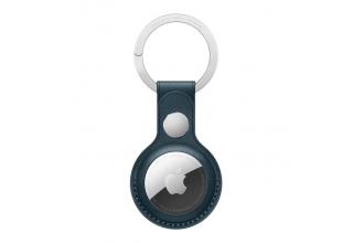 Кожаный брелок для AirTag с кольцом для ключей, цвет «балтийский синий» Apple MHJ23ZM/A MHJ23ZM/A