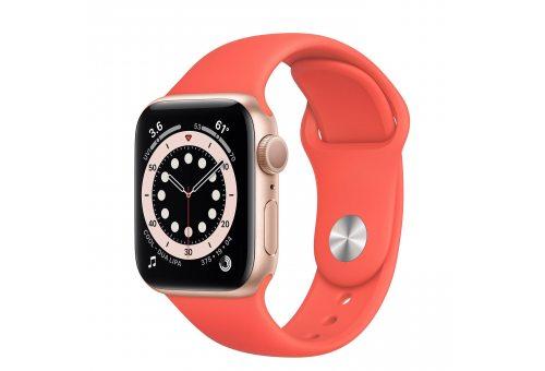Ремень для часов Apple 40mm Pink Citrus Sport Band - Regular