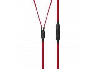 Наушники Beats urBeats3 с разъёмом 3,5 мм, коллекция Beats Decade, цвет «дерзкий чёрно-красный»