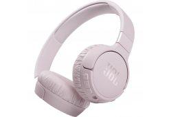 JBL T660NC, розовые