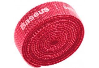 Baseus органайзер проводов Rainbow Circle Velcro Straps 3m Red