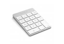 Беспроводной цифровой блок клавиатуры Satechi Aluminum Slim Keypad Numpad. Цвет серебристый.