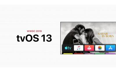 Анонсы WWDC 2019: tvOS 13