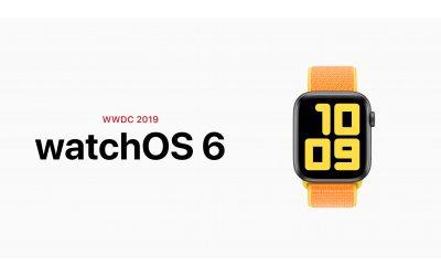 Анонсы WWDC 2019: watchOS 6