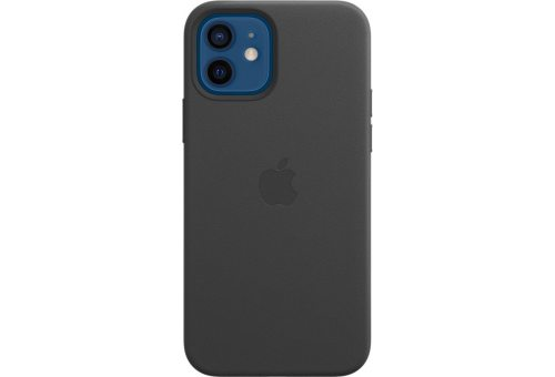 Чехол Apple iPhone 12 | 12 Pro Leather Case with MagSafe - Black