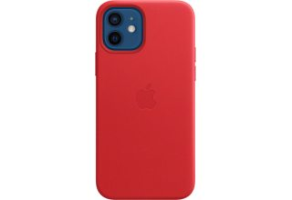 Чехол Apple iPhone 12 | 12 Pro Leather Case with MagSafe - (PRODUCT)RED