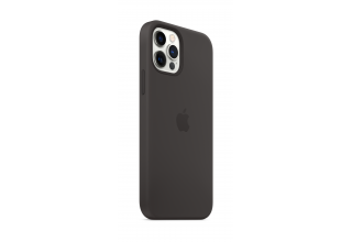 Чехол Apple iPhone 12 | 12 Pro Silicone Case with MagSafe - Black