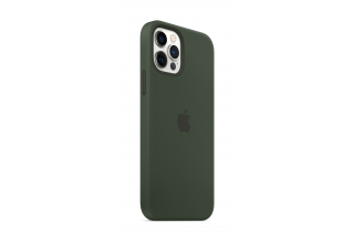 Чехол Apple iPhone 12 | 12 Pro Silicone Case with MagSafe - Cypress Green