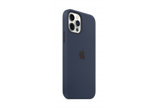 Чехол Apple iPhone 12 | 12 Pro Silicone Case with MagSafe - Deep Navy
