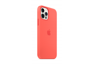 Чехол Apple iPhone 12 | 12 Pro Silicone Case with MagSafe - Pink Citrus