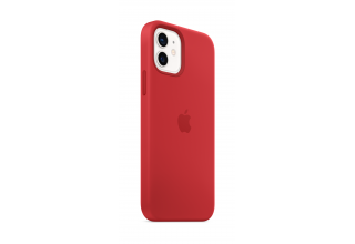 Чехол Apple iPhone 12 | 12 Pro Silicone Case with MagSafe - (PRODUCT)RED