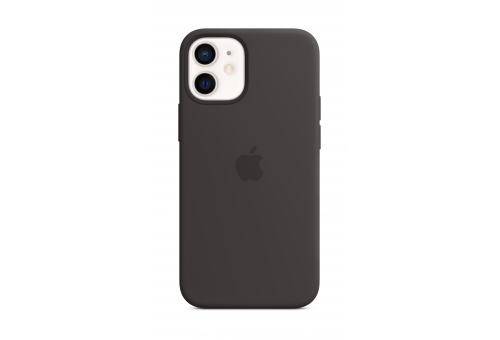 Чехол Apple iPhone 12 mini Silicone Case with MagSafe - Black