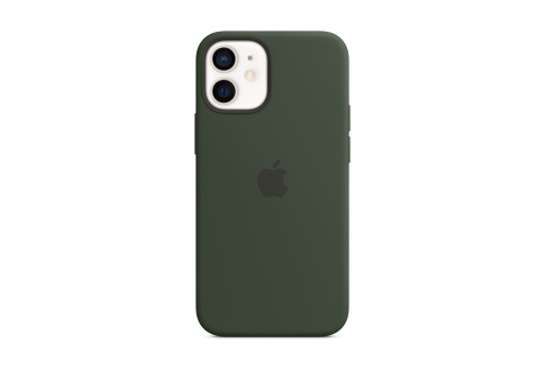 Чехол Apple iPhone 12 mini Silicone Case with MagSafe - Cypress Green