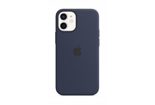 Чехол Apple iPhone 12 mini Silicone Case with MagSafe - Deep Navy