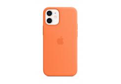 Чехол Apple iPhone 12 mini Silicone Case with MagSafe - Kumquat