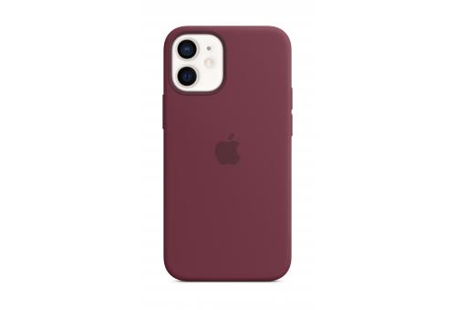 Чехол Apple iPhone 12 mini Silicone Case with MagSafe - Plum