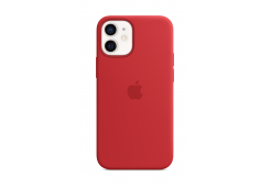 Чехол Apple iPhone 12 mini Silicone Case with MagSafe - (PRODUCT)RED