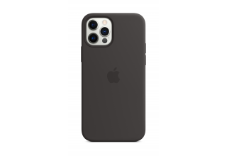 Чехол Apple iPhone 12 Pro Max Silicone Case with MagSafe - Black