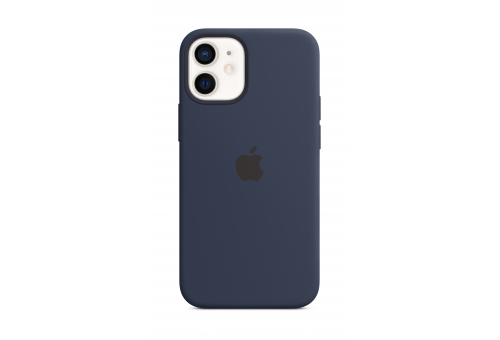 Чехол Apple iPhone 12 Pro Max Silicone Case with MagSafe - Deep Navy