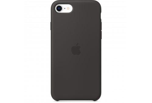 Чехол Apple iPhone SE Silicone Case - Black