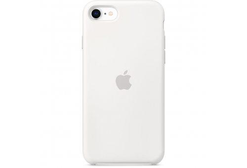 Чехол Apple iPhone SE Silicone Case - White
