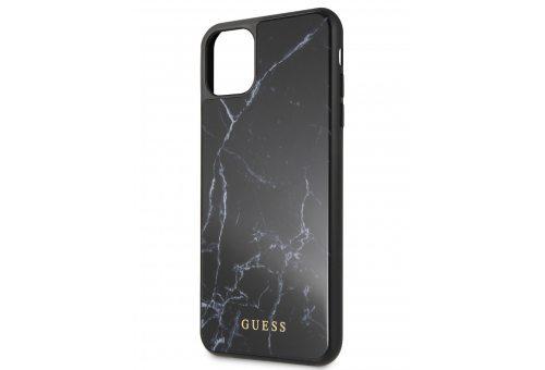 Чехол Guess для iPhone 11 Pro Max Marble Collection Hard PC/TPU Black