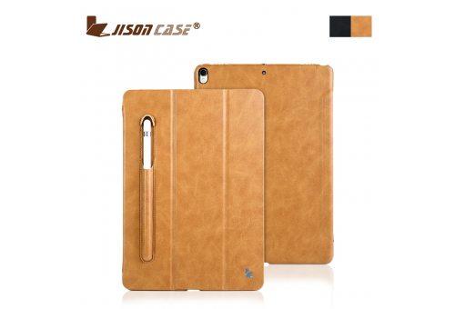 "Чехол Jisoncase Mirco fiber leather case для iPad Pro 11"" 2018 with pencli slot (braun)"