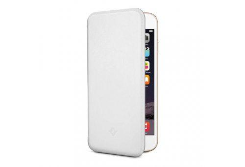 Чехол-книжка Twelve South SurfacePad для iPhone 6, кожаный. Цвет: белый.