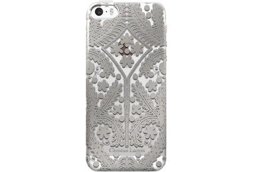 Чехол Lacroix для iPhone 5S/SE Paseo transparent Hard Silver