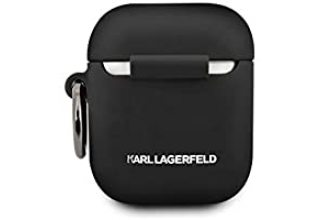 Чехол Lagerfeld для Airpods Choupette Silicone case with ring Black