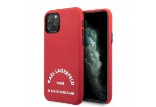 Чехол Lagerfeld для iPhone 11 Pro PU Leather Rue Saint Guillaume Hard Red