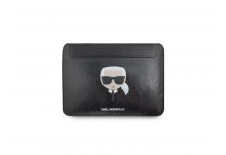 """Чехол Lagerfeld для ноутбуков 13"""" Ikonik Karl Sleeve Black"""