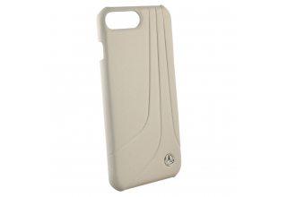 Чехол Mercedes для iPhone 7 Plus/8 Plus Bow ll Hard Leather Grey
