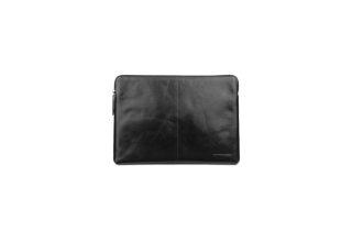 """Чехол на молнии dbramante1928 Skagen для ноутбуков 13"""" дюймов. Материал натуральная кожа. Цвет:черны"""