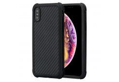 Чехол Pitaka Aramid case, black/grey pl. - iPhone XS Max