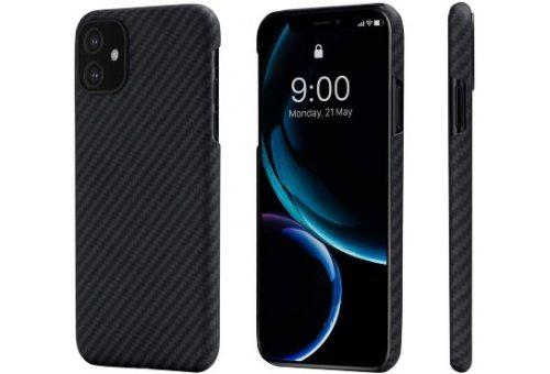 Чехол Pitaka MagEz Case для iPhone 11 (Black/Grey Plain)